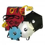 Kit completo paracadute per allenamento nuoto di salvamento